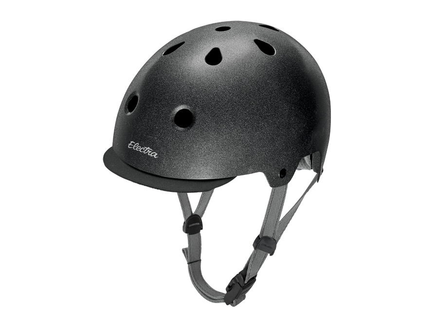Electra Helmet Lifestyle Lux Graphite Reflective Small CE