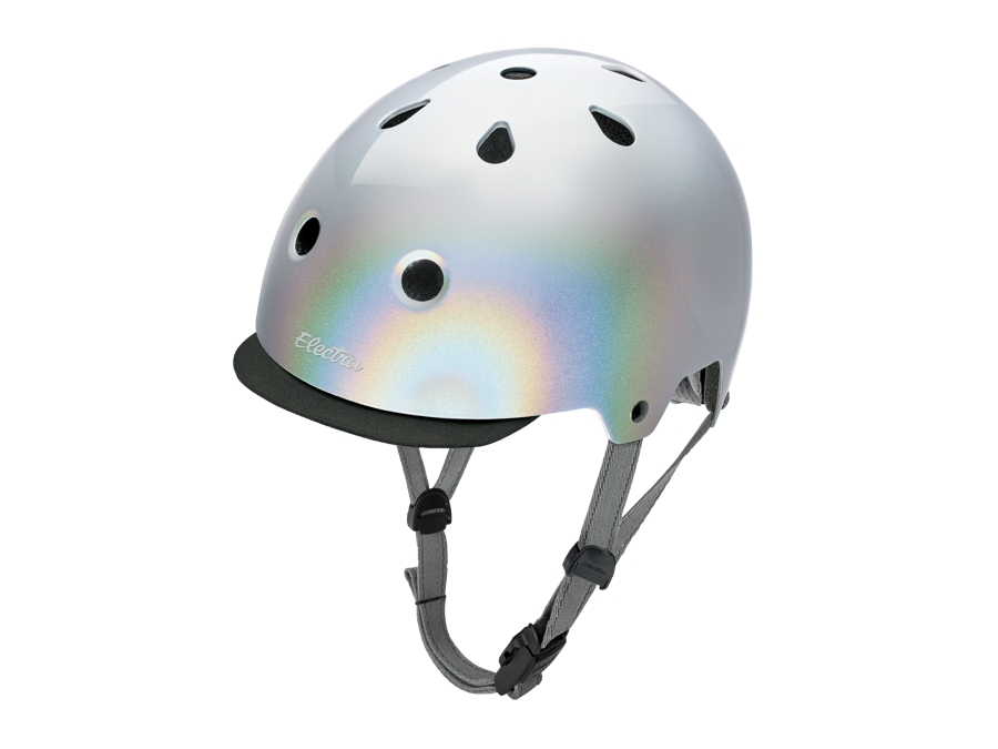 Electra Helmet Lifestyle Lux Holographic Small Silver CE